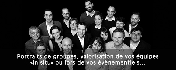 photographe portrait groupe